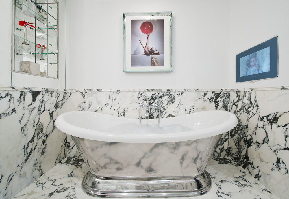 Sparkling Bathrooms The Wellesley Hotel, London By Michelle Chaplow