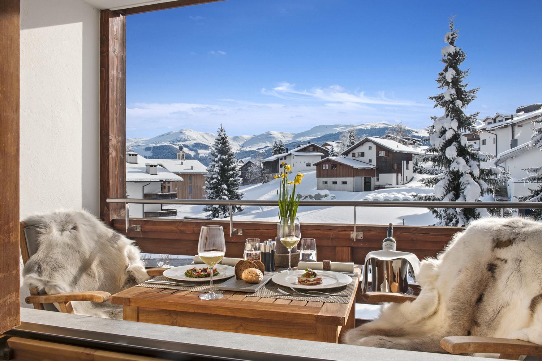 La Val Bergspa Hotel, Brigels, Switzerland.Photographer by Michelle Chaplow