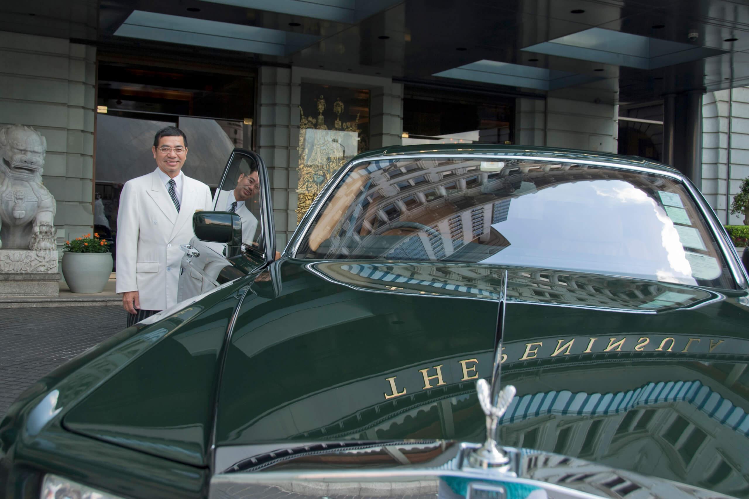 Peninsula Hotel Hong Kong, by Michelle Chaplow